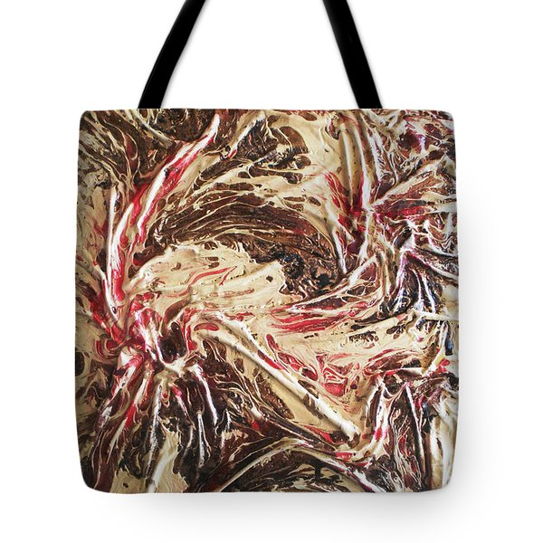 Organic Excitement  Tote Bag by Angela Stout