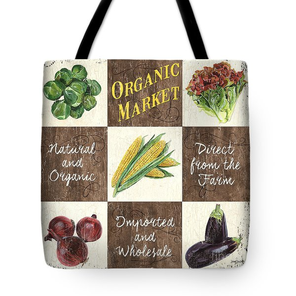 Organic Market Patch Tote Bag