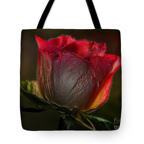 Organic Rose Tote Bag