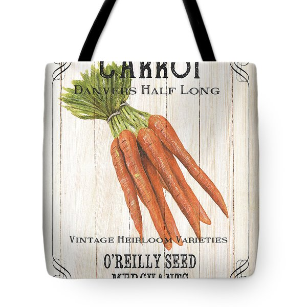 Organic Seed Packet 2 Tote Bag