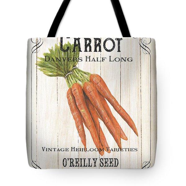 Organic Seed Packet 2 Tote Bag by Debbie DeWitt