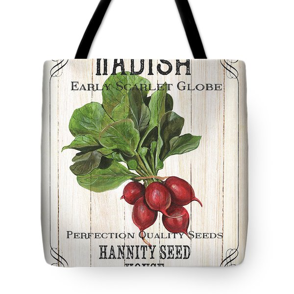 Organic Seed Packet 3 Tote Bag
