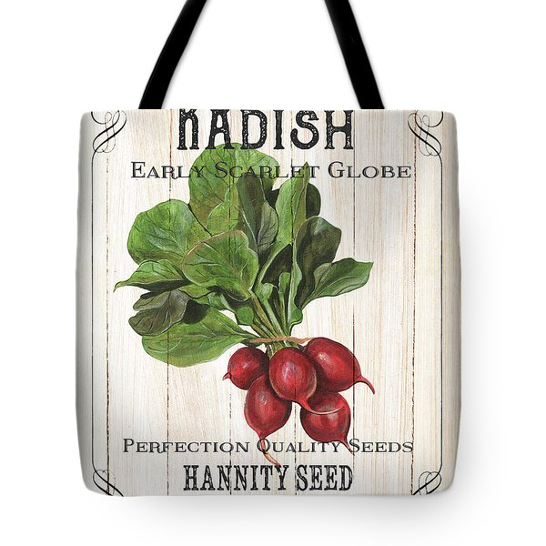 Tote Bag featuring the painting Organic Seed Packet 3 by Debbie DeWitt