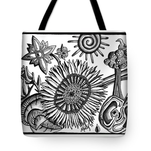 Organic Still Life Tote Bag