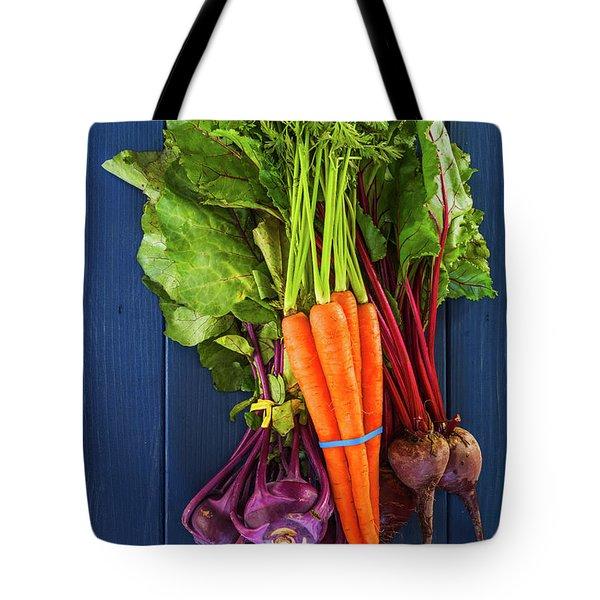 Organic Vegetables Tote Bag