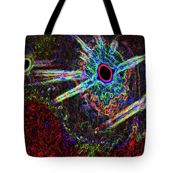 Organized Chaos 2 Tote Bag by Bruce Iorio