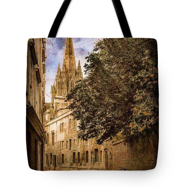 Oxford, England - Oriel Street Tote Bag