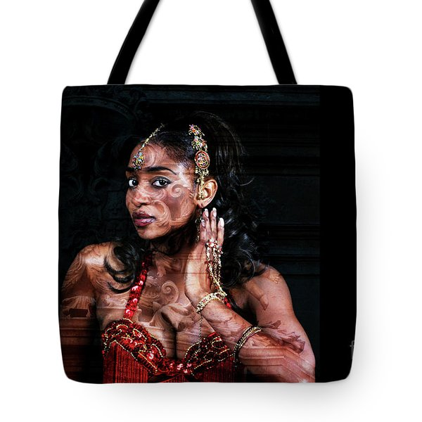Orient Meets Baroque Tote Bag
