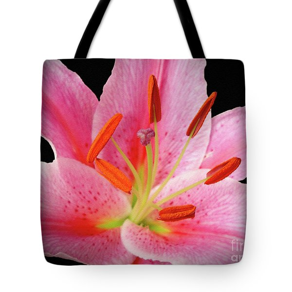 Tote Bag featuring the photograph Oriental Beauty by Sue Melvin