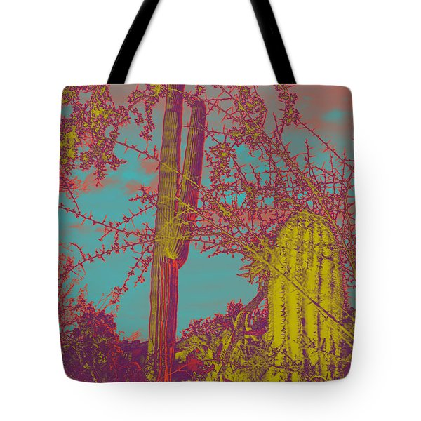 Oriental Colors Of Arizona Tote Bag