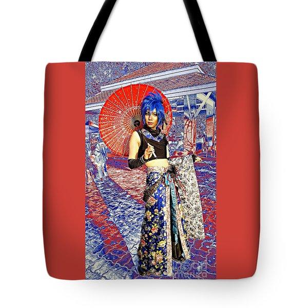 Oriental Cosplayer Tote Bag