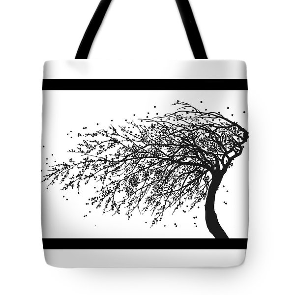 Oriental Foliage Tote Bag by Gina Dsgn