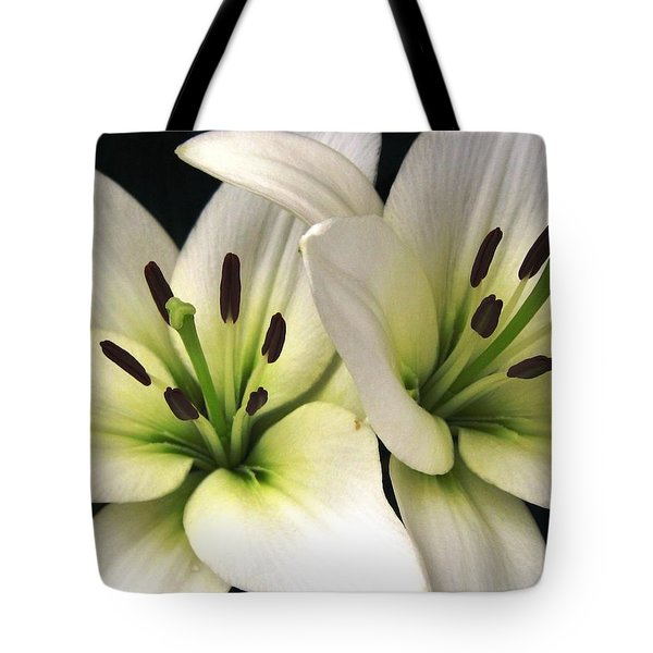 Oriental Lily Named Endless Love Tote Bag