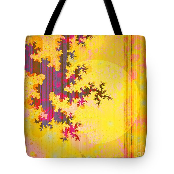Oriental Moon Behind My Courtain Tote Bag