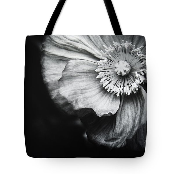 Tote Bag featuring the photograph Oriental Poppy by Charmian Vistaunet