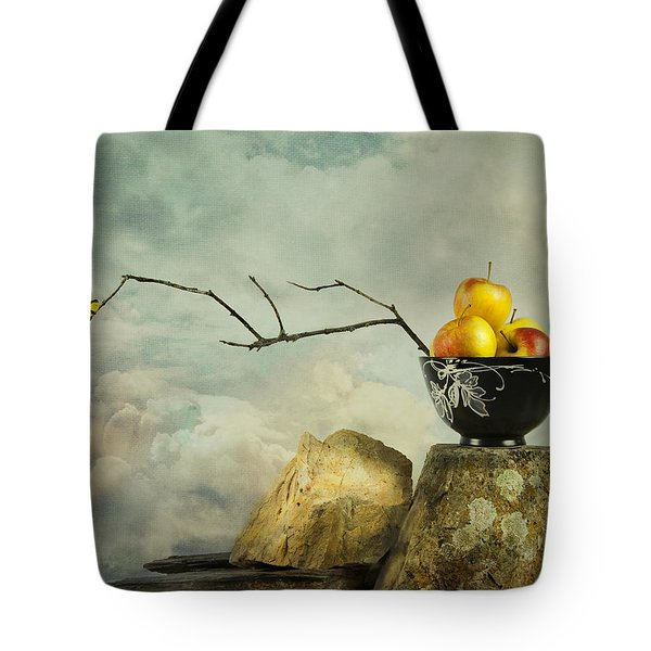 Oriental Still Life Tote Bag