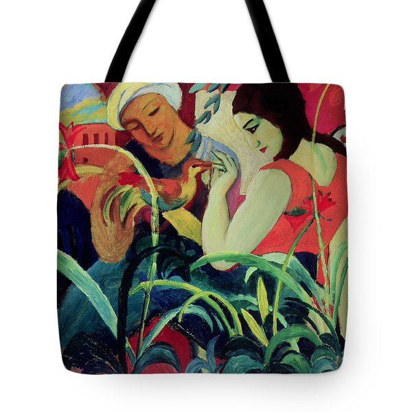 Oriental Women Tote Bag