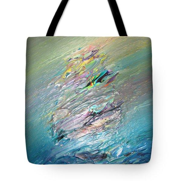 Original Abstract Masterpiece 1 Tote Bag