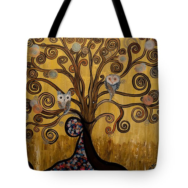 Original Acrylic Artwork By Mimi Stirn - Hoomasters Collection -hooklimt #414 Tote Bag