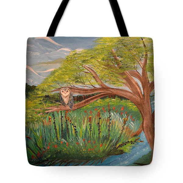 Original Acrylic Artwork By Mimi Stirn - Hoomasters Collection Hoomonet #413 Tote Bag