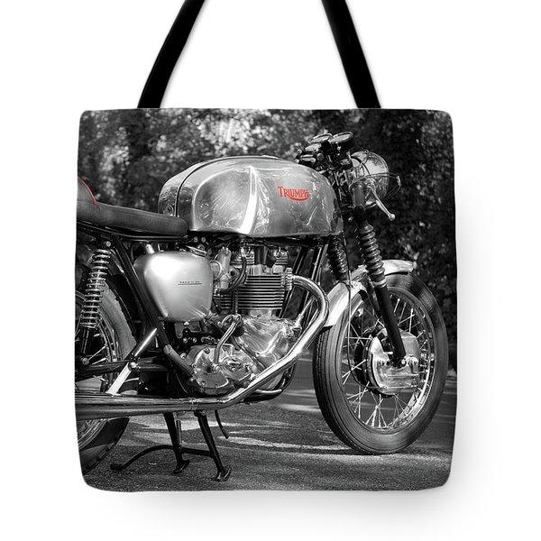 Original Cafe Racer Tote Bag by Mark Rogan
