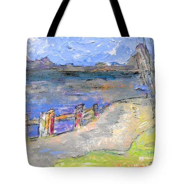 Asheville And The French Broad River Tote Bag