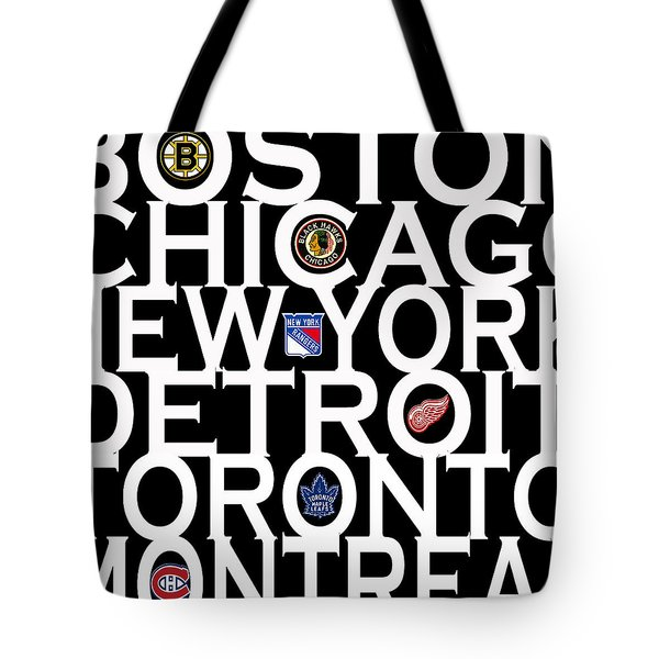 Original Six Tote Bag by Andrew Fare