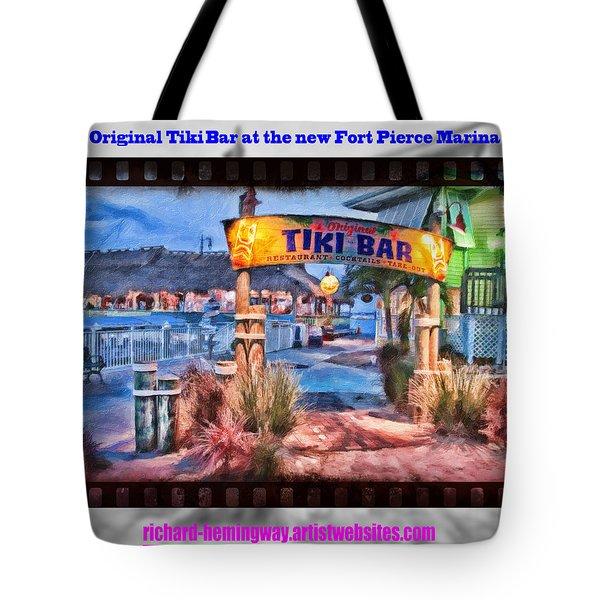 Original Tiki Bar Tote Bag