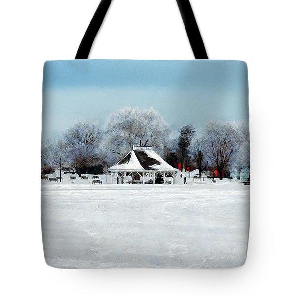 Orillia Winter Tote Bag