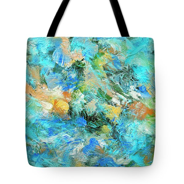 Tote Bag featuring the painting Orinoco by Dominic Piperata