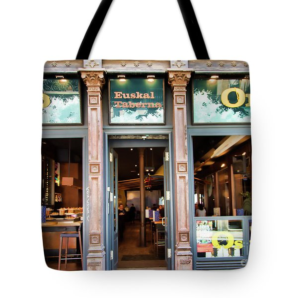 Orio La Rambia Beer Drinks  Tote Bag