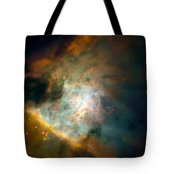 Orion Nebula Mosaic  Tote Bag by Jennifer Rondinelli Reilly - Fine Art Photography