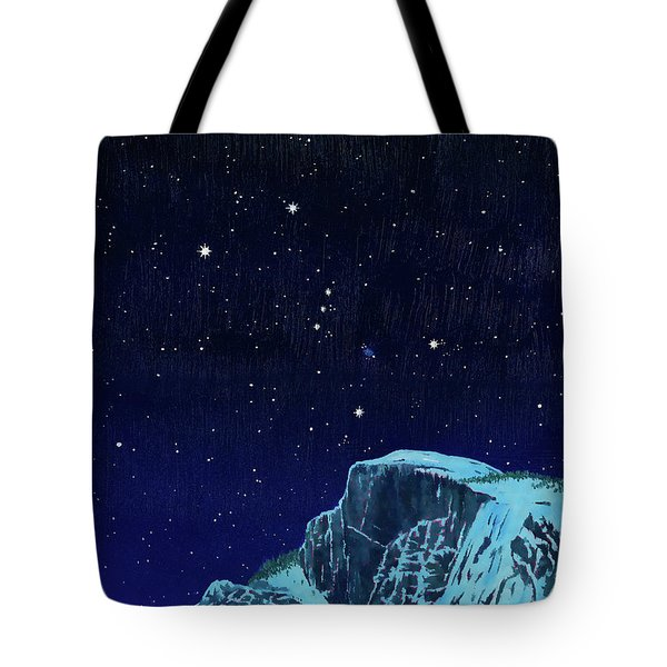 Orion Over Yosemite Tote Bag