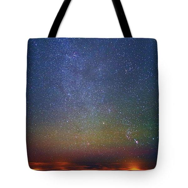 Orion Rising Tote Bag