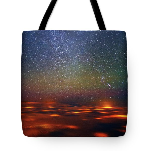 Orion Rising Tote Bag