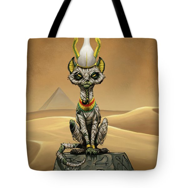 Osiris Egyptian God Tote Bag