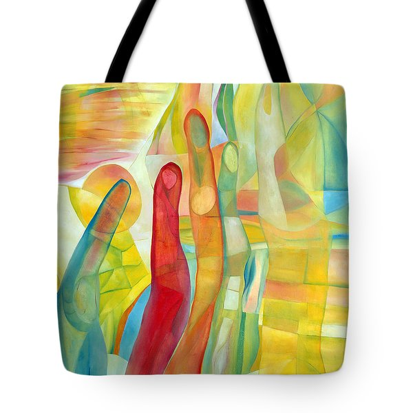 Tote Bag featuring the painting Orlando by Linda Cull