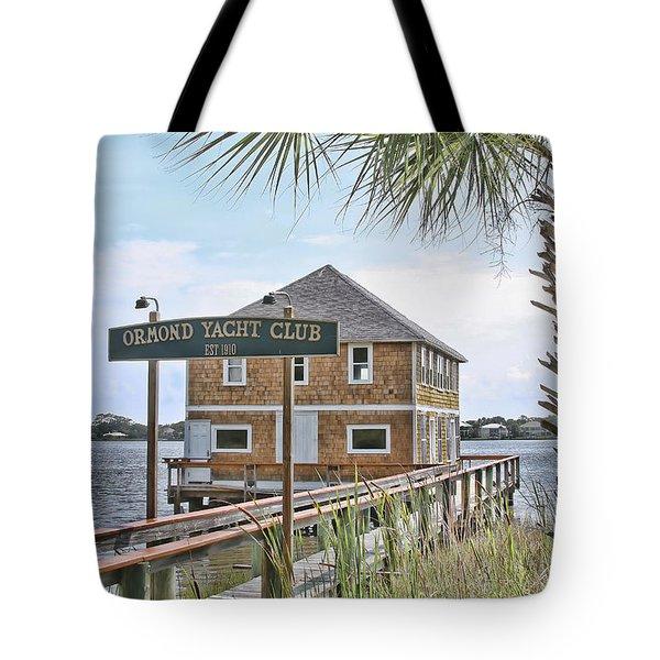 Ormond Yacht Club Tote Bag