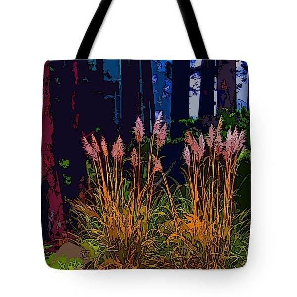 Ornamental Grasses Tote Bag by Anne Havard