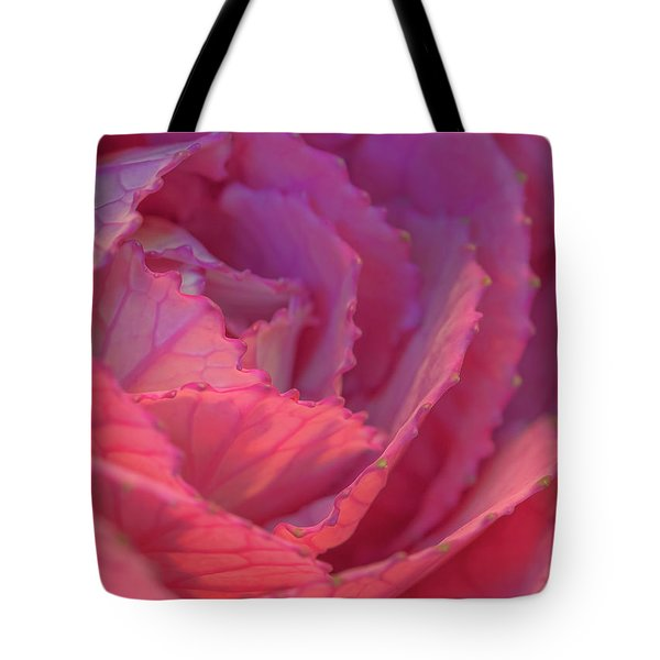 Tote Bag featuring the photograph Ornamental Pink by Roy McPeak