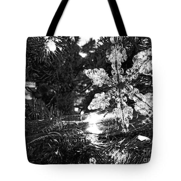 Ornamental Snowflake Tote Bag