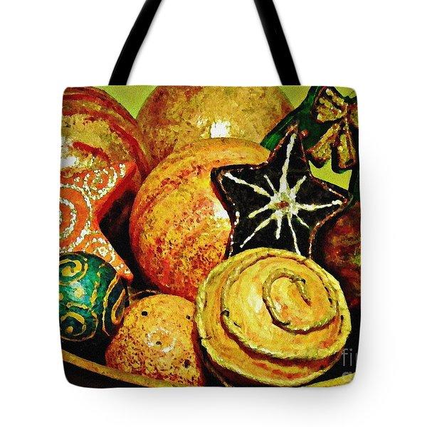 Ornaments Tote Bag by Sarah Loft
