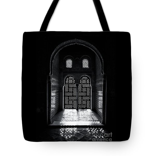 Ornate Alhambra Window Tote Bag
