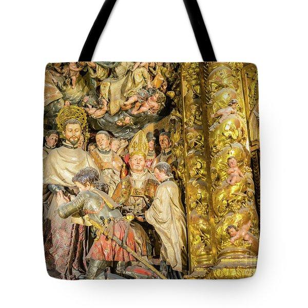 Ornate Gold Guilded Altar Tote Bag