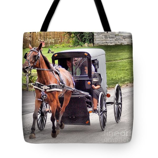 Tote Bag featuring the photograph Ornery by Polly Peacock