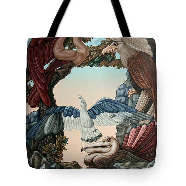 Ornithological Symphony By Ludwig Van Beethove Tote Bag