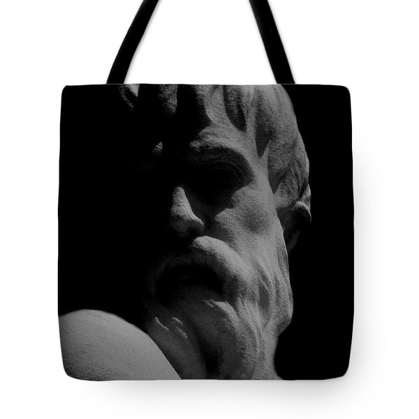 Orpheus Looks Back Tote Bag by RC DeWinter