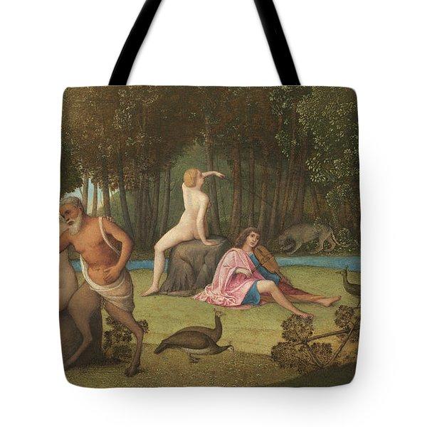Orpheus Tote Bag by Venetian School