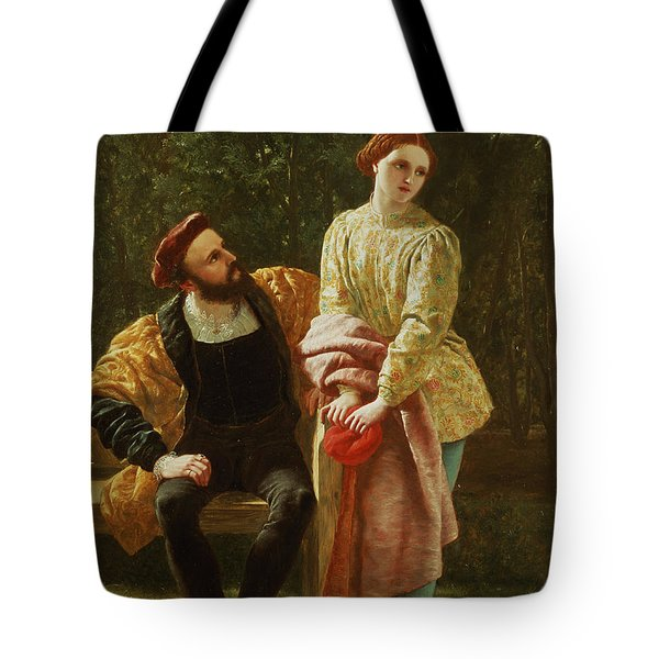 Orsino And Viola Tote Bag
