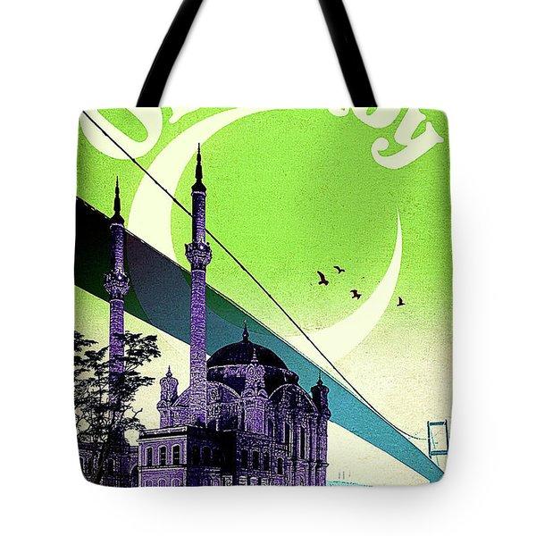 Ortakoy, Istanbul, Turkey Tote Bag